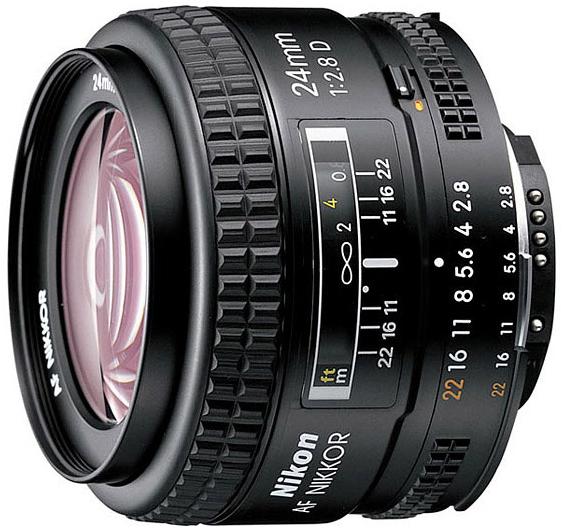 AF Nikkor 24mm 2.8D 优点缺点 用家心得分享
