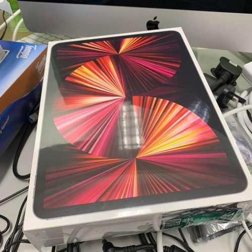 全新行貨未開 Apple iPad Pro 2021 11吋 WiFi + Cellular 5G 256GB 太空 ...